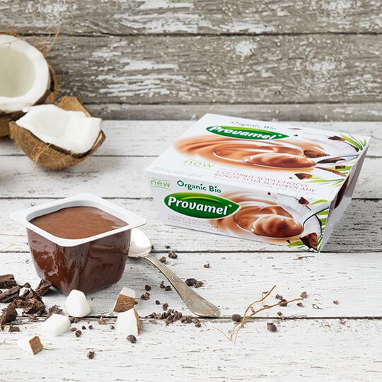 The Soya Dessert Coconut Chocolate by Provamel is a irresistibly delicious…