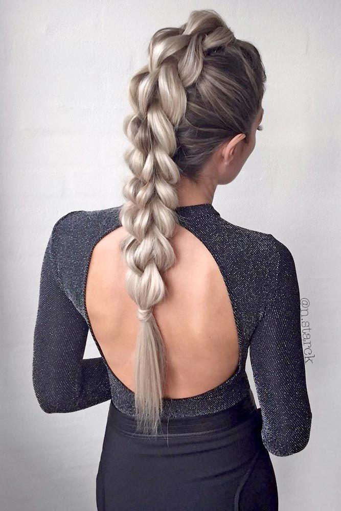 braids long hair