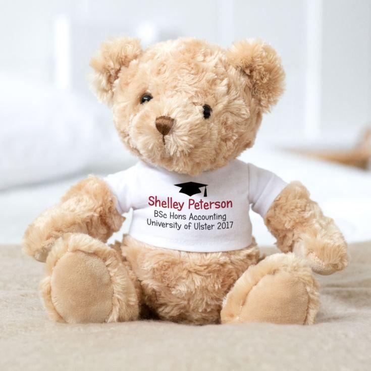 Personalised Graduation Bear Valentines Day Teddy Bear Personalized Valentines Personalized Easter