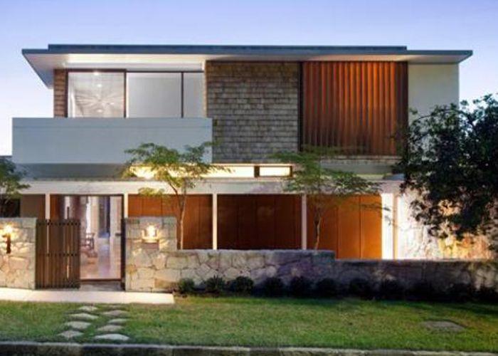 Gambar Rumah Minimalis 2 Lantai Modern Terbaru Contemporary House Design Architecture Facade House Contemporary house jamii forum