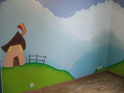 Les 86 meilleures images du tableau fresque et peinture murale dans les chambres d 39 enfant sur for Peinture murale chambre enfant