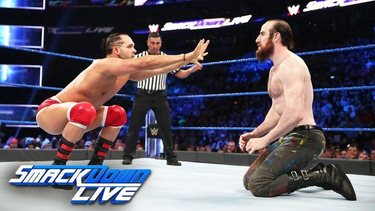 Tye Dillinger vs. Aiden English: SmackDown LIVE, April 11, 2017