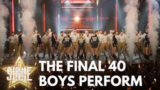 Dannii Minogue puts the Let It Shine final 40 boys through their musical paces - Let It Shine - BBC  Programme website: http://bbc.in/2kiItVT Dannii Minogue puts the Let It Shine final 40 boys through their musical paces