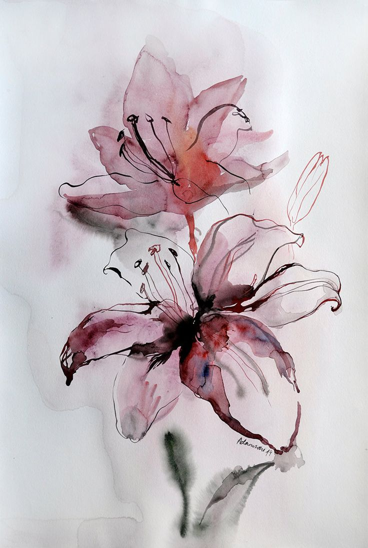 125 best favorite art images on Pinterest | Watercolor paintings ...