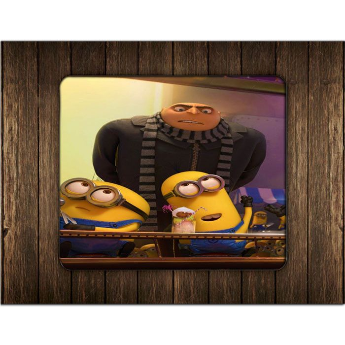 DESPICABLE ME GRU AND MINIONS MOUSE PADS