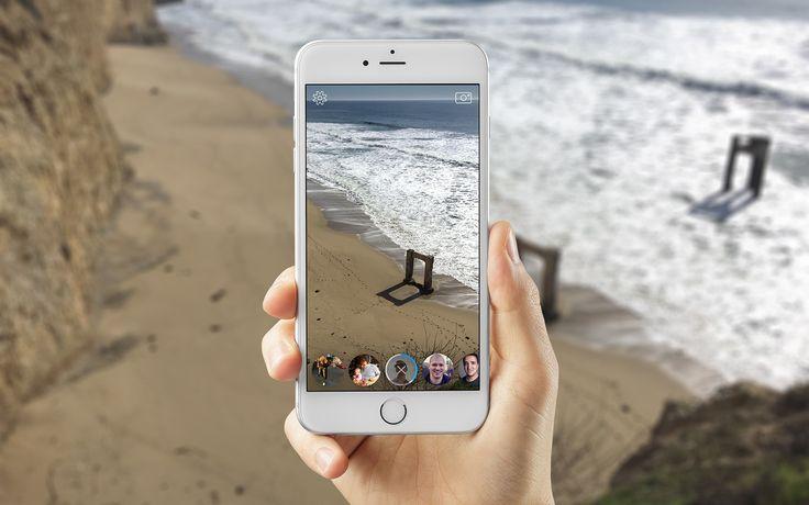 Facebook Camera App Concept & Prototype on Behance