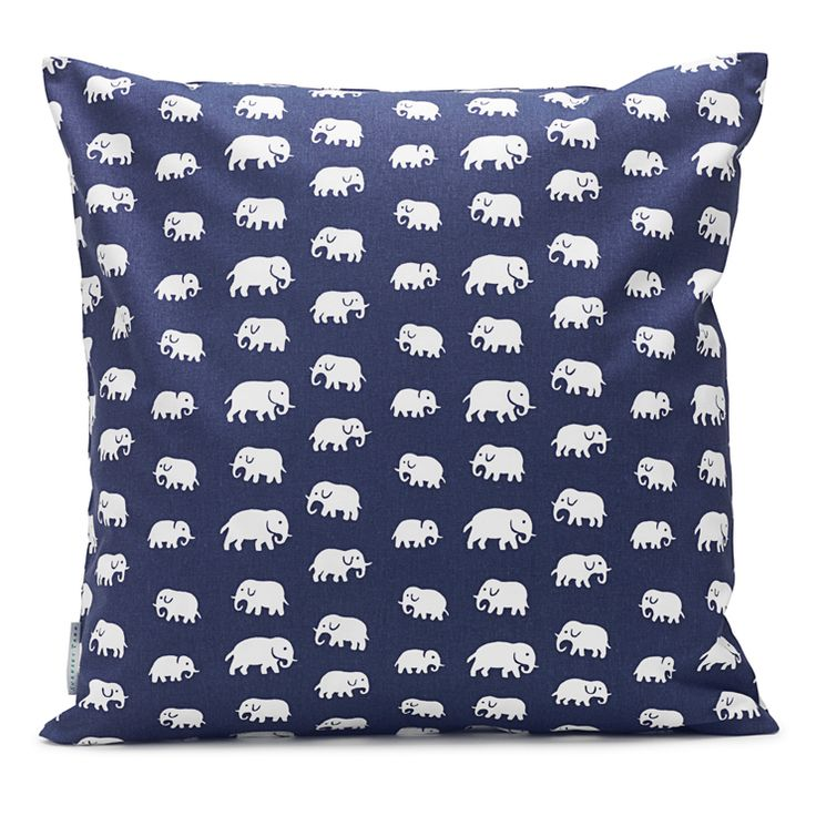 Kudde Elefant Bomull   Svenskt Tenn