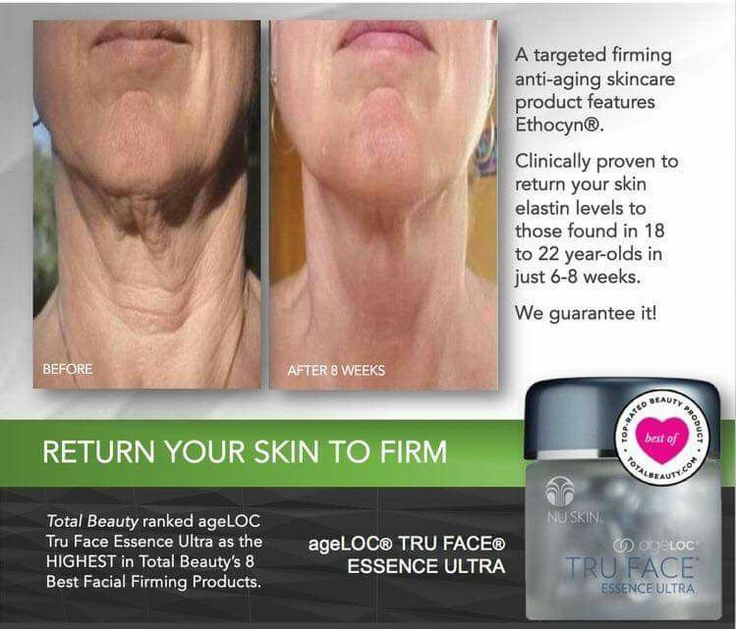 How phenomenal are these results ?? AgeLOC Truface Essence Ultra was voted 1of the top facial firming products by TotalBeauty.com Formulated with Ethocyn, which targets the sources of aging that leads to the loss of firmness. Ethoycn enhances elastin production, resulting in improvement in facial and neck contours, returning skin elastin levels those found in 18-22 years old. WOW 😮No more chicken-neck. Now that's definitely something we all would like. For more info email…