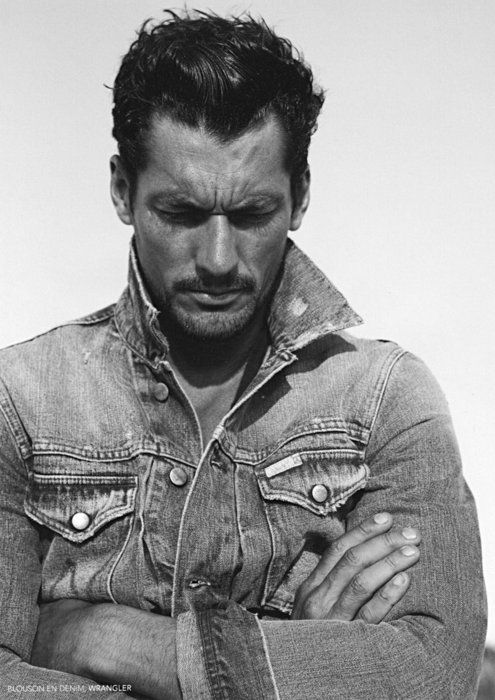 .David James, Man Man, Jeans Jackets, David Gandy, Gentlemens Club, Denim Jackets, James Gandy, Gandy Candies, Man Style