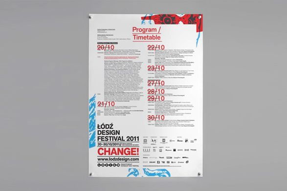Lodz Design Festival 2011 Identity on Behance
