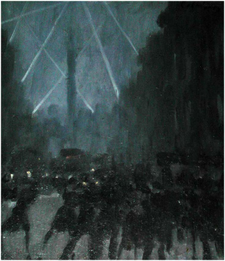 Night raid by Colin Colahan