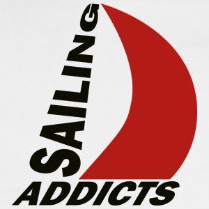 track jacket black logo Sailing Addicts TM