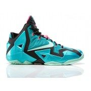 Authentic 616175-330 Nike LeBron 11 Sport Turquoise/Medium Mint-Black $139.00   http://www.firesneakers.com