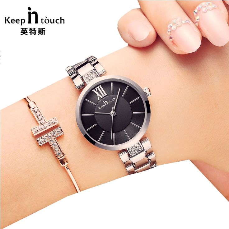 KEEP IN TOUCH Ladies Watches Top Brand Bracelet Quartz Fashion Watch Women Dress…
