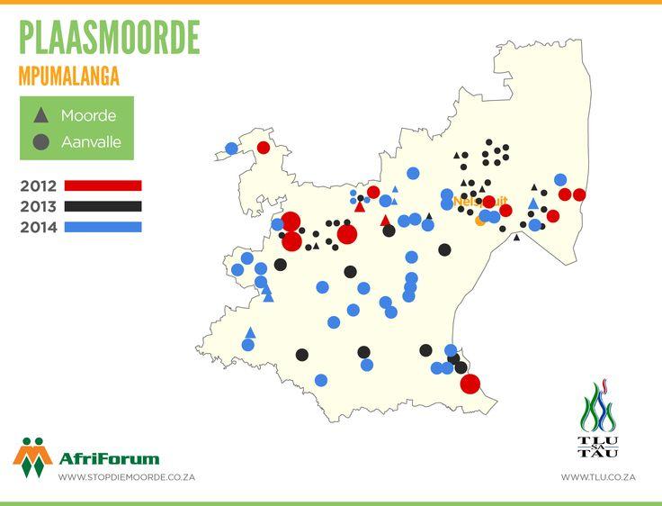 2012 - 2014 Mpumalanga Plaasaanvalle - en moorde