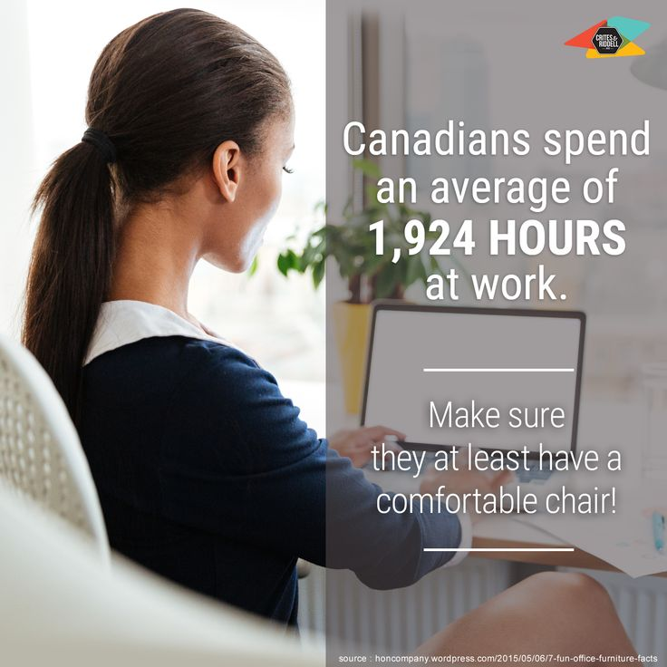 Do you have a comfortable office chair?