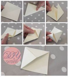 how to make a big origami book