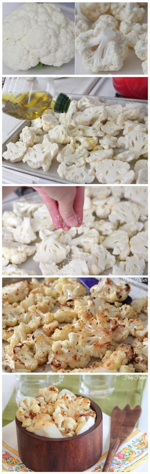 *ENGLISH || Roasted garlic cauliflower | Coliflor asada con ajo