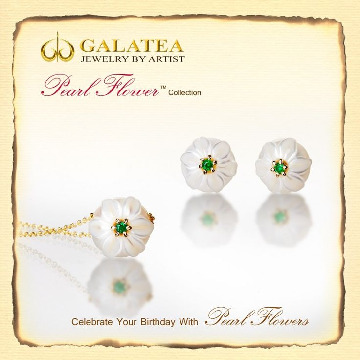 We have received some new pieces from the Galatea Pearl Flower collection. Come in and see!
