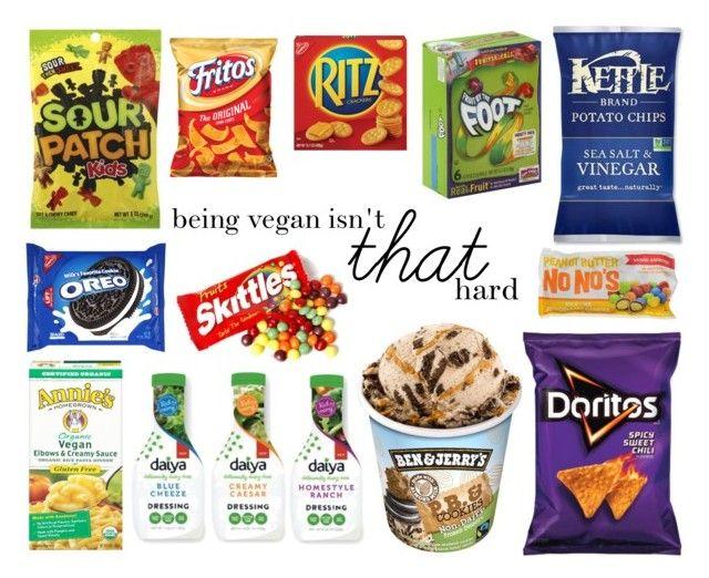 """Vegan Junk Food"" by sarahsunshine777 on Polyvore featuring art"