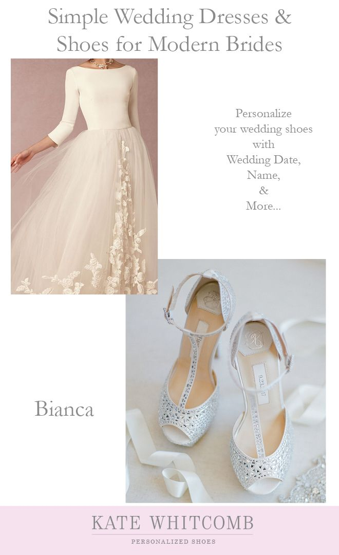 Stunning Ivory Bridal Shoes Embellished In Rhinestones For Your