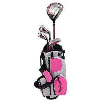 MacGregor Golf MacGregor Girls Tourney II Package Set The MacGregor Junior Girls Tourney II Set has been created to fit junior golfers ideally to the right clubs based on their size and strength. This approach to proper club fitting helps match players t http://www.MightGet.com/january-2017-11/macgregor-golf-macgregor-girls-tourney-ii-package-set.asp
