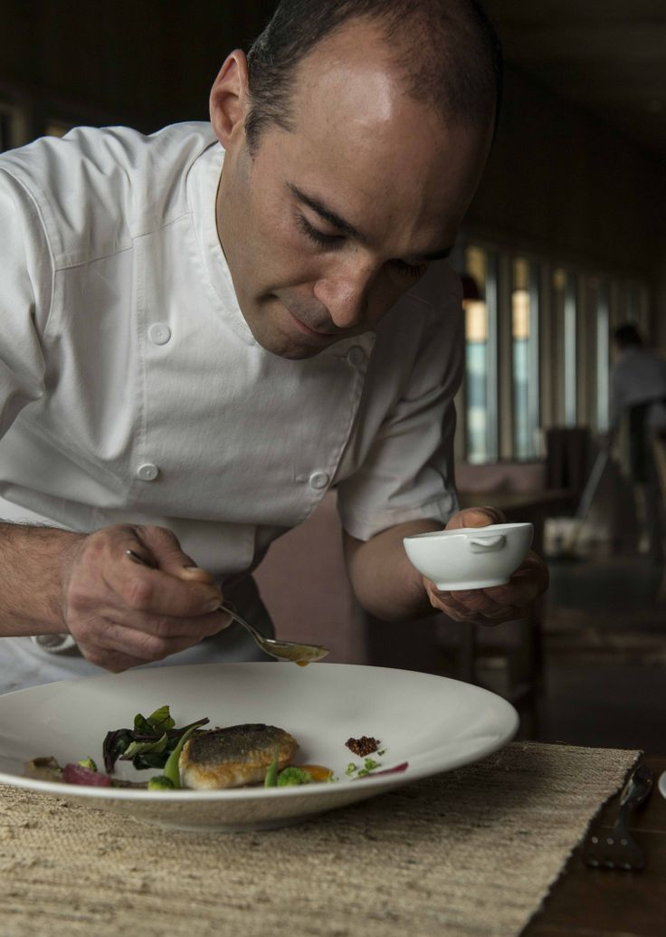 Executive Chef Federico Ziegler works his magic for guests at Awasi Patagonia