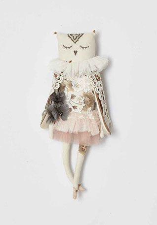 Лора Палмер - Игровая кукла в стиле БОХО