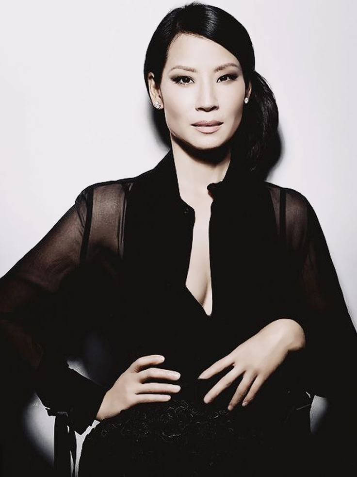 Lucy Liu as she appears in one of my favourite Studio shoots.