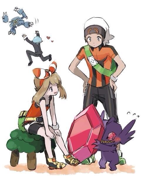 Omega Ruby/Alpha Sapphire - lol at Steven in the background :D