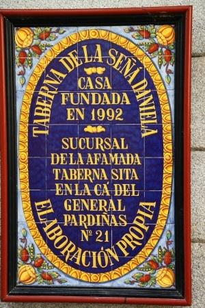 Madrid, Spain. Cocido madrileño en la Taberna la Daniela en la plaza de Jesús en Madrid