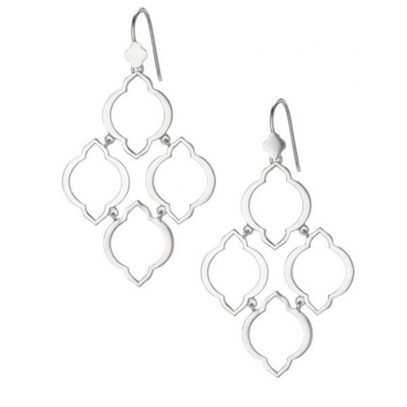 STELLA AND DOT Arabesque Chandelier Earrings. Very popular. Shop here: http://www.stelladot.com/sites/megberl