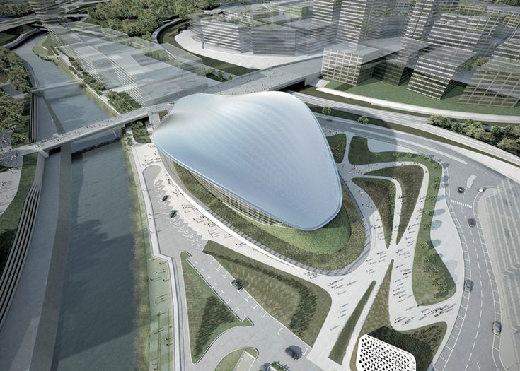 17 best images about architecture stadium on pinterest for Parametric architecture zaha hadid