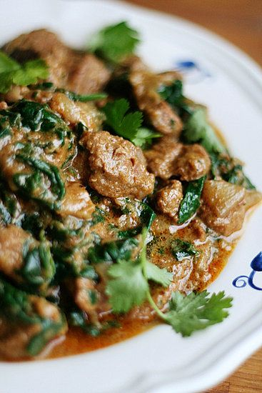 Saag Gosht - Curry d'Agneau aux Épinards