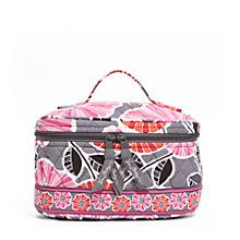 A large cosmetic bag for all your beauty needs. I definitely need a new makeup bag!