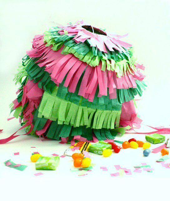 A beautiful tradition: A pull-string #piñata