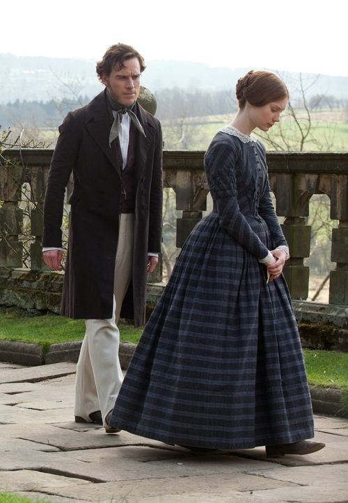 Michael Fassbender & Mia Wasikowska in Jane Eyre 2011 - In here mainly because I love all things Jane Eyre.  Not the best movie version though.