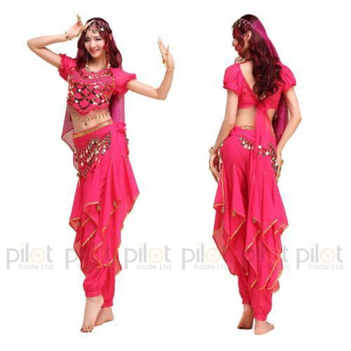 2015 NEW Arrival Oriental Dance Costumes Bollywood Indian Dress 3PCS Belly Dance Vestido Suit For Women 6 Colors(China (Mainland))