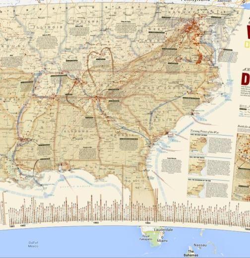 Best Images About US History On Pinterest Social Studies - Us civil war map geographic image
