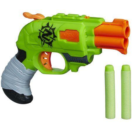 small nerf gun (2) and refills