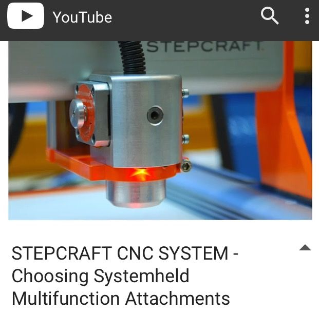 By far one of the most unique features of all #STEPCRAFT #CNC systems is the ability to interchange many different attachments to increase the functionality of the system. From Laser engraving and cutting to 3D printing, STEPCRAFT is the world's leading all-in-one multi-function desktop CNC machine https://youtu.be/yP6m6pREnlg