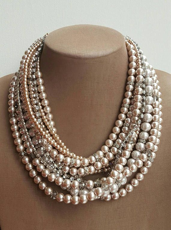 Check out this item in my Etsy shop https://www.etsy.com/ca/listing/512293834/multistrand-light-coffee-pearl