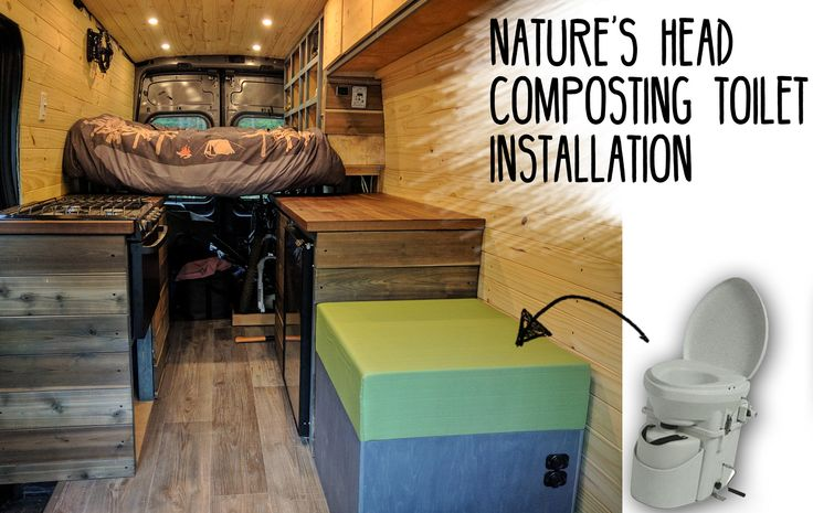 Nature's Head Composting Toilet Installation in our van conversion. Materials, tools, cost and installation. Fully illustrated for your viewing pleasure!