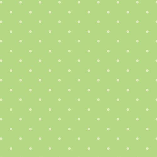 Fondo con topos verde pastel