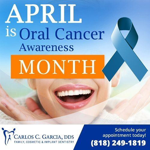 Schedule your appointment for your #oralcancer screening today at Carlos C. Garcia DDS: (818) 249-1819 #oralcancerawareness #april #preventivedentistry #dentistry #dentist #dentalvisit #dentalappointment #glendale #glendaleca #glendalecalifornia #california #glendaledentist by carlosgarciadds Our Preventive Dentistry Page: http://www.myimagedental.com/services/preventive-dentistry/ Google My Business: https://plus.google.com/ImageDentalStockton/about Our Yelp Page…
