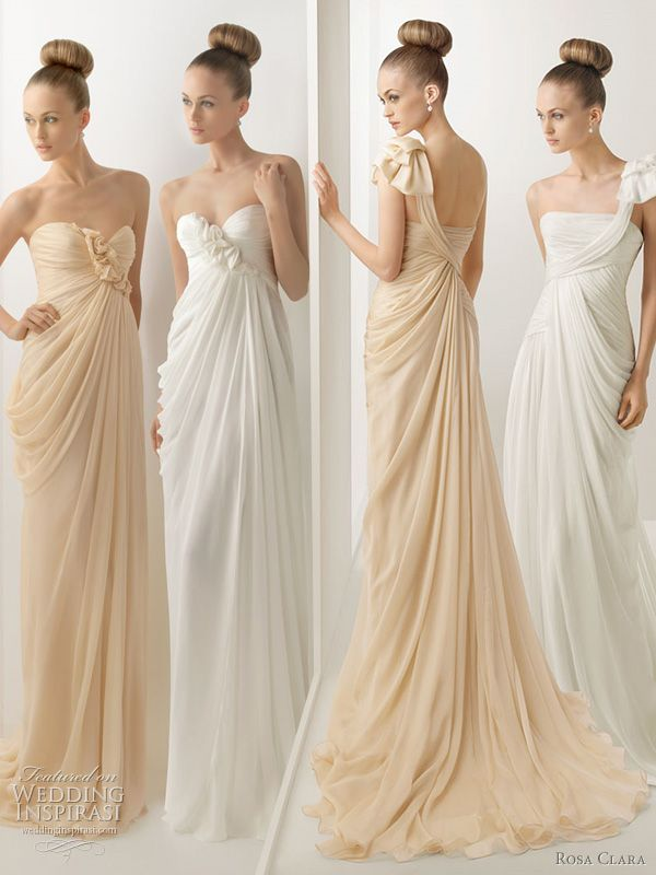 My Wedding Dess Is Beige Just Like The Dress In This Imageexcept Not