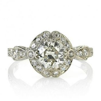 Unique Engagement Rings: Halo Engagement Rings, Diamond Rings: Glamour.com