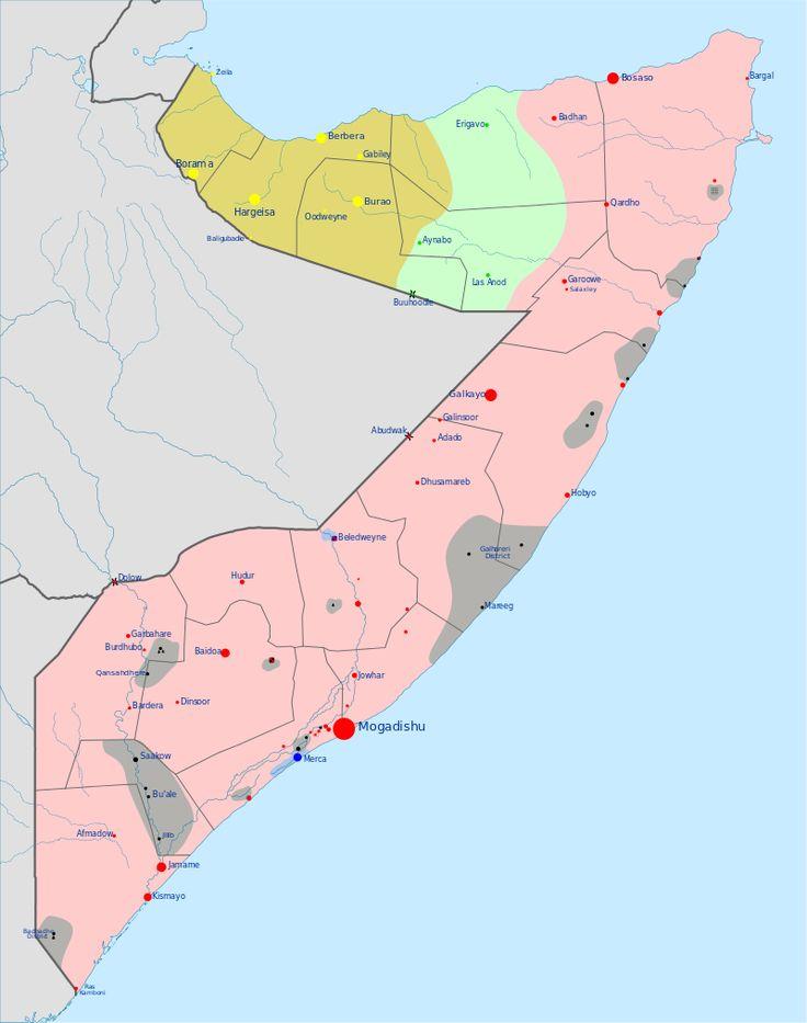 Gli Arcani Supremi (Vox clamantis in deserto - Gothian): Situazione della guerra civile in Somalia a fine f...