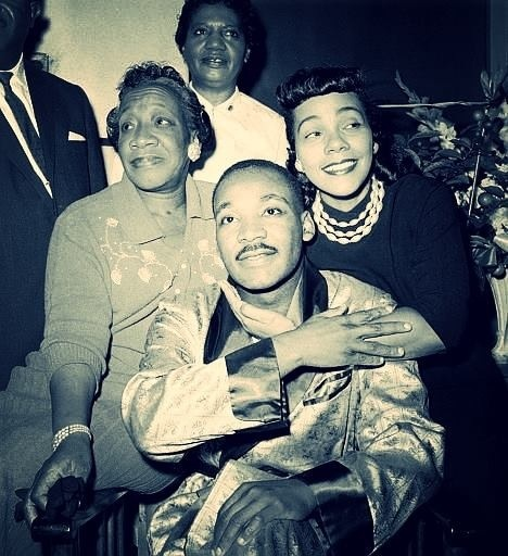 Dr. Martin Luther King, Jr. and Family