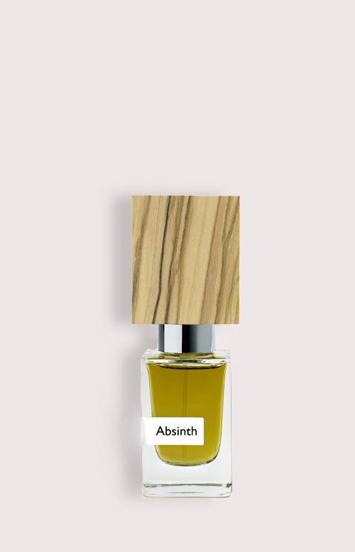 NASOMATTO - ABSINTH. UNISEX!!! The fragrance aims to evoke degrees of hysteria. It is the result of a quest to stimulate irresponsible behaviour. Available in Extrait de Parfum, 30 ml. The nose behind this fragrance is Alessandro Gualtieri.